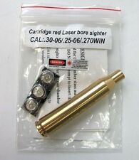 30-06 25-06 .270  Red Laser Bore Sight Brass Boresighter