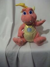 "9"" mignon doux rose cassie dragon de dragon tales playskool plush doll"