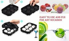 Ice Cube Tray Mold Maker Whiskey Ice Ball Mold Round Ice Ball Maker Cocktails