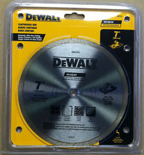 "DeWalt DW4791 7"" High Performance Continuous Rim Diamond Tile Saw Blade"