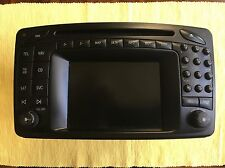 Mercedes Benz Comand Navigation 2.0 GPS System Radio CD Player LCD Screen OEM