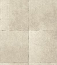 Afrika Tapete Vlies Leder Fell Optik Flicken Grau Beige Vliestapete Rasch 422467
