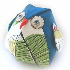 Owl Doorstop Sewing PATTERN - Cute Craft Template