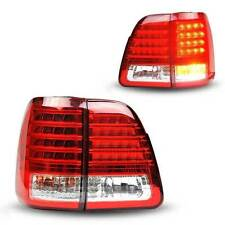 LED Tail Lights Assembly Rear Brake Lamp For Toyota Land Cruiser 2000-2007
