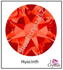 HYACINTH Orange 20ss 5mm 72 pieces SWAROVSKI Crystal Flatback 2088 Rhinestones