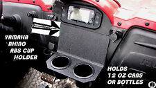 Yamaha Rhino ABS Dual Cup Holder fits boats, golf carts