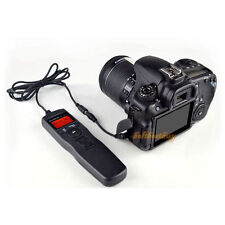 Timer Camera Remote Control Shutter Cable for Canon EOS 7D, 50D, 40D, 30D,