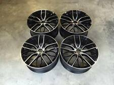 "19"" 405M Style Wheels Gloss Black Machined BMW 1 3 5 Series E90 E92 F10 F30 F20"