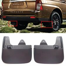 Rear bumper Mud Splash Guard L+R for Oem Parts Ssangyong Korando/Actyon Sports