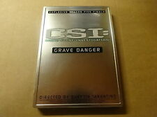 METAL CASE DVD / CSI: CRIME SCEN INVESTIGATION - GRAVE DANGER - SEASON 5 FINALE