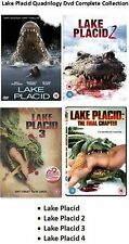 Lake Placid Quadrilogy Complete Collection Part 1 2 3 4 NEW AND SEALED UK R2 DVD