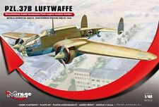 PZL 37 B LOS - WW II POLISH BOMBER (LUFTWAFFE MKGS) 1/48 MIRAGE LIMITED EDITION