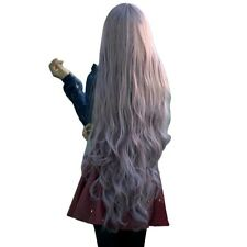 Womens Long Curly Wavy Hair Full Wigs Cosplay Party Anime Lolita Wigs 100cm