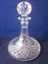 WATERFORD CRYSTAL Colleen OLD MARK Ships Decanter with Stopper