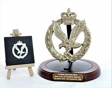 Army Air Corps (AAC): Presentation-Gift Set – Round Base (Engraving included)