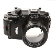 40M Waterproof Housing for Sony A5000 NEX-3N Camera 16-50mm Lens Underwater Case