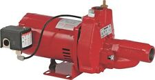 NEW FRANKLIN ELECTRIC RED LION RJC-50 1/2 HP CONVERTIBLE WELL JET PUMP 9109927