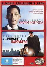 Seven Pounds / The Pursuit Of Happyness (DVD, 2009, 2-Disc Set) will smith
