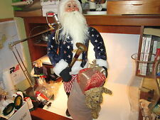Byers Choice Civil War Santa New