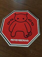 """RADIOHEAD - AMNESIAC """"Crying Minotaur - Remembering"""" Sticker"""