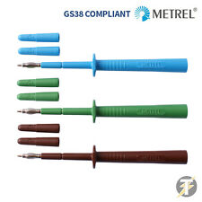 Metrel Alphatek MLP3 Electrical Test Lead Probes & Spare Shrouds