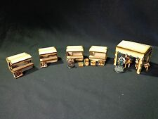 TTCombat - Old Town Scenics - Market Set - Great for Malifaux