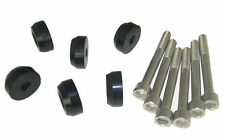 Lower Control Arms LCA Dress-Up Washers Bolt Black For HONDA ACURA Integra Civic