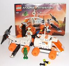 Lego Space Mars Mission MT-21 Mobile Mining Unit 7648 vehicle and figures