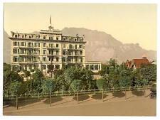 Lutschinen Hotel Widenmann Bernese Oberland A4 Photo Print