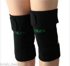 2Pcs Protection Magnetic Therapy Belt Knee Brace Support Spontaneous Heating