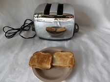 Retro Vingtage T-35 SUNBEAM Radiant Control Automatic Toaster Works