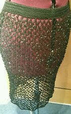 Dolce and Gabbana Sequined Knitted Skirt
