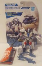 Transformers Prime Beast Hunters Smokescreen Cardback 100% Complete