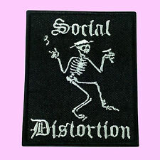 Social Distortion Skeleton Punk Rock Monster Mommy Embroidered Iron On Patch