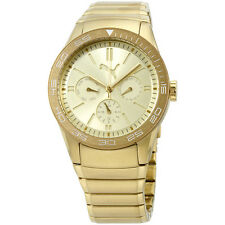 Puma Gold Dial Gold Stainless Steel Men's Watch PU102822003