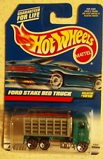 1999 HOT WHEELS FORD STAKE BED TRUCK UNOPENED