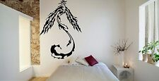 Wall Room Decor Art Vinyl Sticker Mural Decal Tribal Flame Bird Phoenix FI566