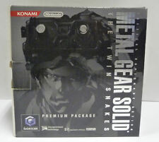 CONSOLE NINTENDO GAMECUBE METAL GEAR SOLID PREMIUM PACKAGE LIMITED GC JAPAN RARE