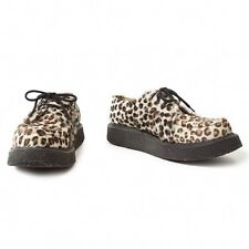 Y's for men spawn leather leopard sole shoes Size 10(K-20767)