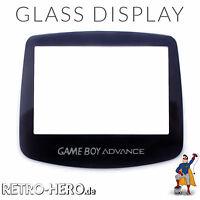 Nintendo Game Boy Advance Display Front Scheibe Ersatz Austausch grau aus GLAS
