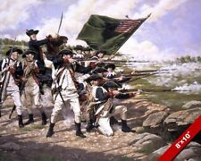 AMERICAN REVOLUTION BATTLE OF BROOKLYN LONG ISLAND OIL PAINTING ART CANVAS PRINT