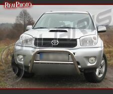 TOYOTA RAV4 2000-2005 BULL BAR, NUDGE BAR, A BAR + GRATIS!!! STAINLESS STEEL