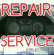 "2004 2007 FORD FREESTAR INSTRUMENT CLUSTER ""SPEEDOMETER""  REPAIR SERVICE"