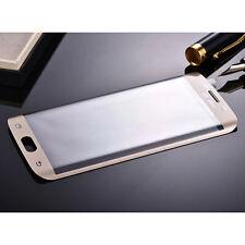 3D Curved Panzerglas für Samsung Galaxy S6 Edge Schutz Folie Schutzglas Gold NEU