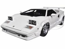 LAMBORGHINI COUNTACH 25TH ANNIVERSARY EDITION WHITE 1/18 MODEL BY AUTOART 74537