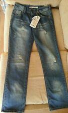 Ethanol womens jeans distressed new w 30 L 33