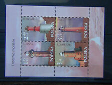 Poland 2007 Lighthouses Miniature Sheet MNH