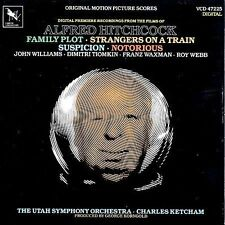 Music from Alfred Hitchcock Film SCORES  by Varese Sarabande USA LIKE NEW