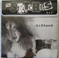 "THE STITCHES 3X7"" SIXTEEN TALK SICK SMOGTOWN JUNK BODIES US BOMBS SMUT PEDDLERS"