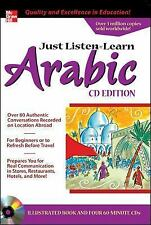 Just Listen 'n' Learn Arabic, 2E Package (Book + 3CDs): The Fastest Way to Real